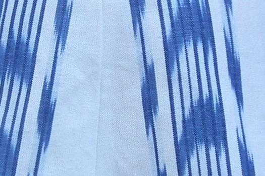 ikat blau fletxa
